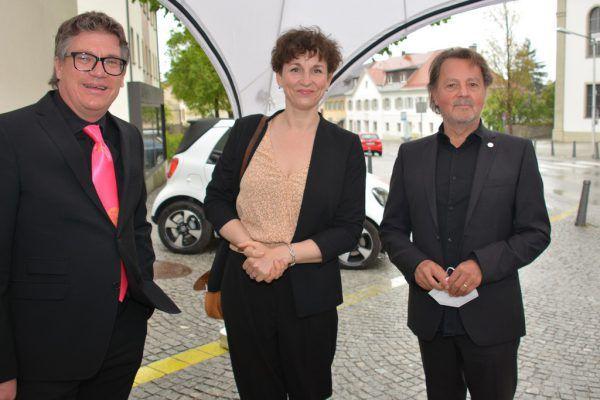 Geschäftsführer Dieter Heidegger, Präsident Günter Bucher und die künstlerische Leiterin Susi Claus.Fritz-Pinggera(4)