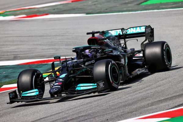 Im freien Training legte Lewis Hamilton vor.GEPA