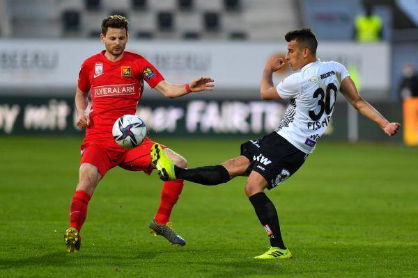 Im letzten direkten Duell setzte es eine 0:1-Niederlage für Altach. Manfred Fischer wird heute nicht zum Einsatz kommen.GEPA/Lerch