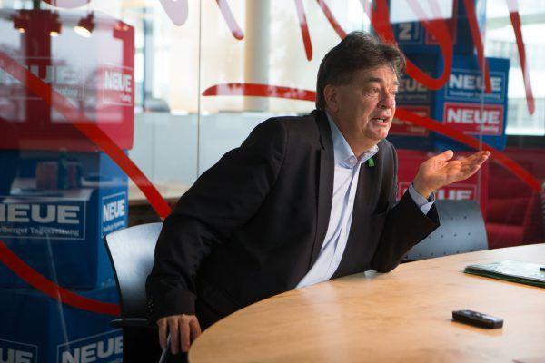 """In Sachen Klimaschutz ist Vizekanzler Werner Kogler (""""Grüne"""") der Auffassung, ein Umweltturbo laufe bereits: """"Wir stellen bereits Milliarden für den Umwelt- und Klimaschutz zur Verfügung, das ist echt mega.""""Symbolbild/Hartinger"""
