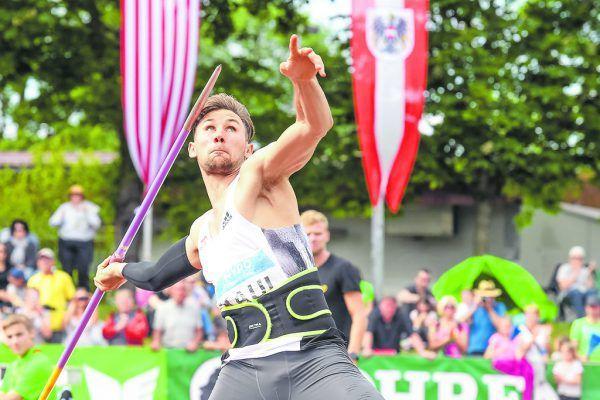 Niklas Kaul will in Götzis hoch hinaus. GEPA/Lerch