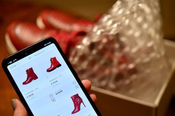 Online-Shopping ist nach wie vor beliebt.Apa