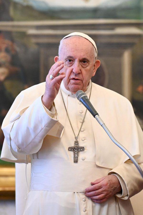 Papst Franziskus richtete sich mit dem Appell an die Bevölkerung, mehr Solidarität für Migranten aufzubringen. Vatican Media