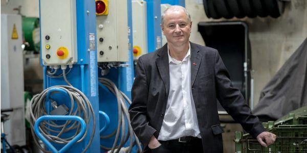 Peter Fischer vom Institut für Fahrzeugtechnik an der TU Graz.Lunghammer/TU Graz