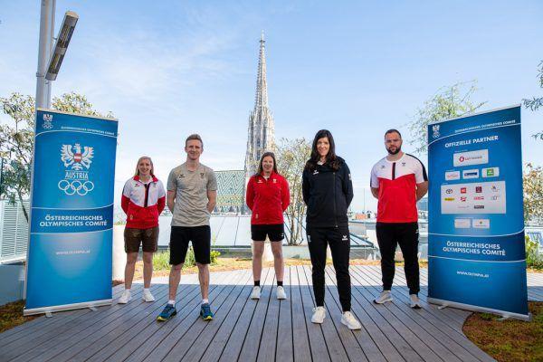 """So sieht er aus, der neue """"Look"""" von Österreichs Olympia-Athleten.gepa"""
