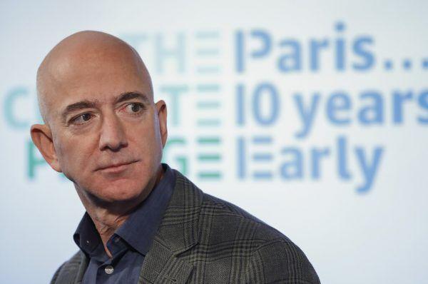 Amazon-Chef Jeff Bezos.AP