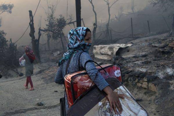Auch in Zeiten der Pandemie darf das Elend der Menschen in den griechischen Flüchtlingslagern nicht vergessen werden.Reuters