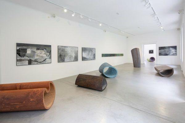Blick in die Ausstellung. petra Rainer