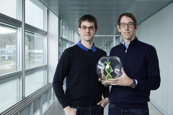 Chemiker Robert Grass (r.) und Wendelin Stark. APA