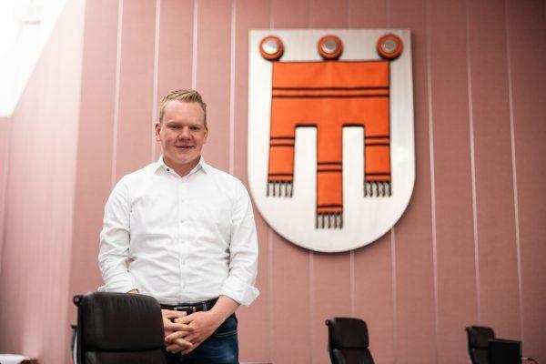 Christof Bitschi im Vorarlberger Landtag.Sams