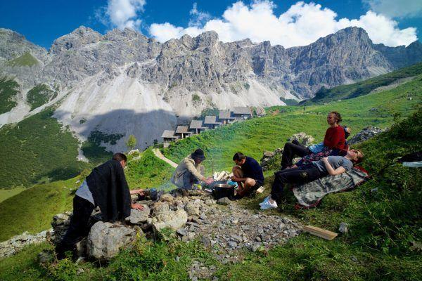 """Das nach Eigendefinition """"steilste Festival in den Bergen"""" wird heuer zum neunten Mal stattfinden.Elmar Bertsch"""