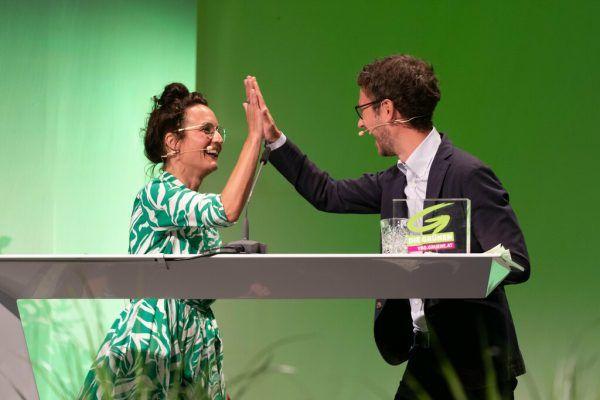 Das neue Spitzenduo: Eva Hammerer und Daniel Zadra.