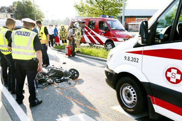 Der 50-Jährige war mit einem Elektro-Moped unterwegs.©Mathis (2)
