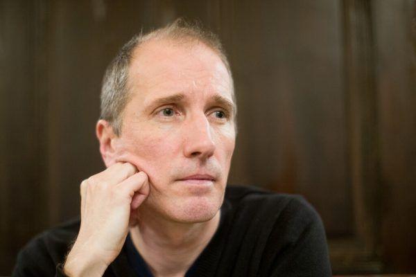 Der Autor Hans Platzgumer und sein aktueller Roman. apa, Zsolnay
