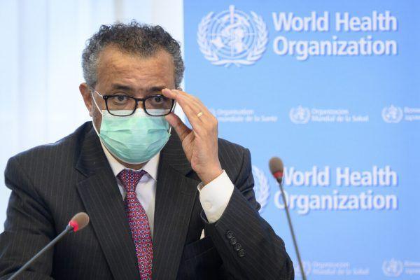 Der Chef der WHO Tedros Adhanom Ghebreyesusd.ap
