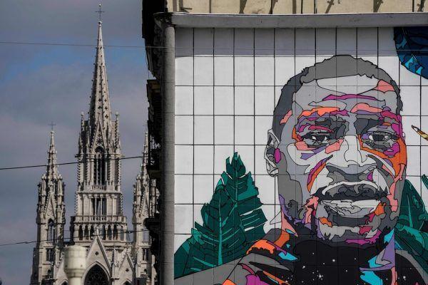 """Der Fall George Floyd war der Anstoß einer weltweiten """"Black Lives Matter""""-Bewegung.Symbolbild/AFP"""