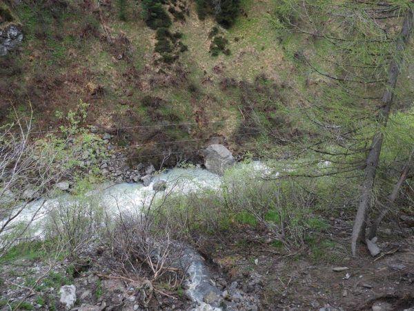 Der Felssturz ereignete sich am Samstagabend.apa/Land Tirol