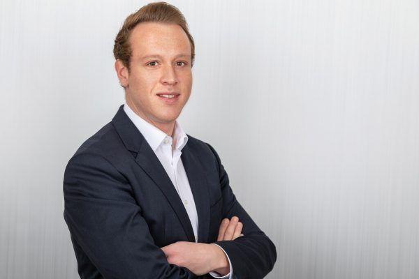 Der Harder ÖVP-Gemeindevertreter Rene Bickel.Mauche