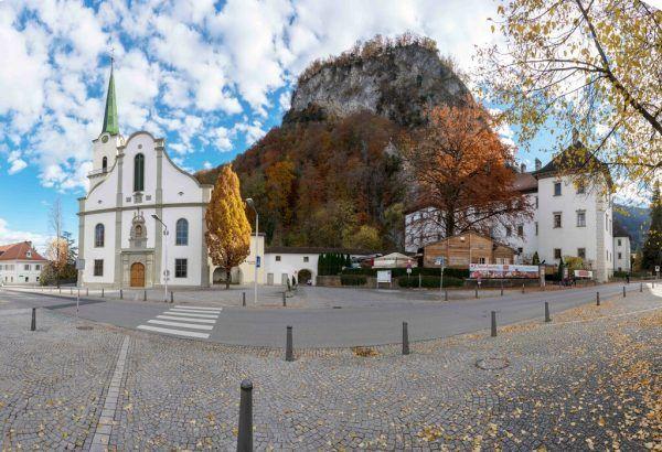 Der Hohenemser Kirchplatz wird von Juli bis November neu gestaltet.Stadt Hohenems