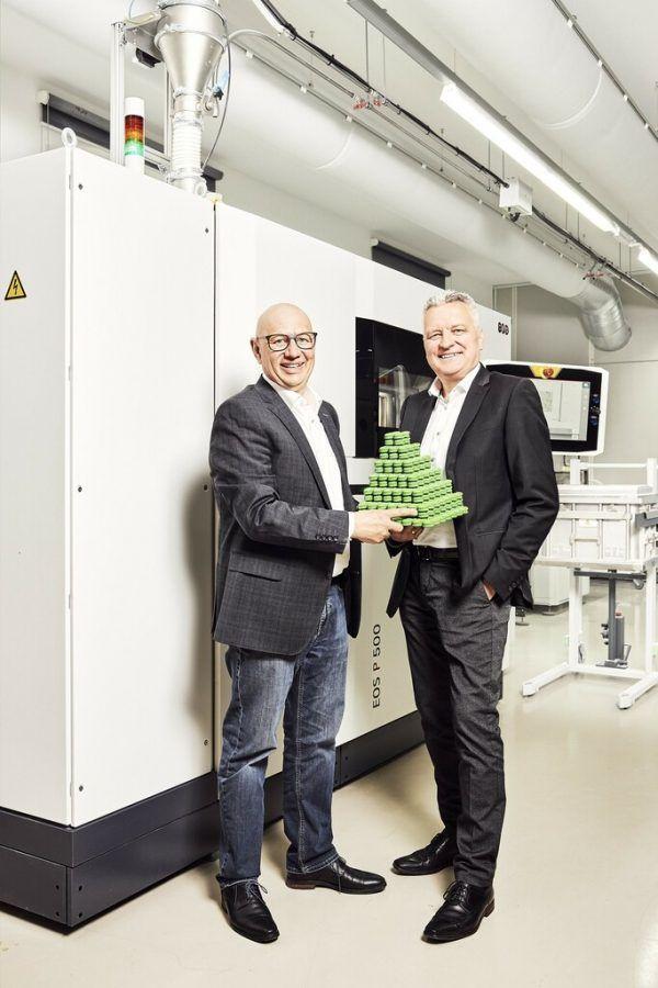 Die beiden Geschäftsführer und Gründer von 1zu1, Hannes Hämmerle und Wolfgang Humml.Darko Todorovic