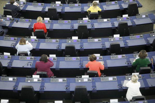 Die EU-Parlamentarier tagen wieder in Straßburg. AP