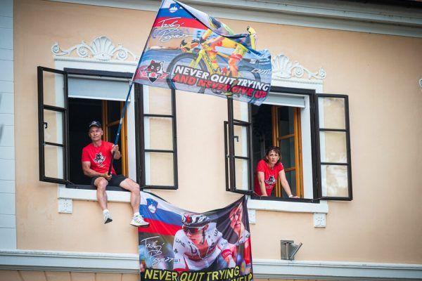 Die Fans von Tadej Pogacar hoffen auf einen erneuten Toursieg des Slowenen.AFP