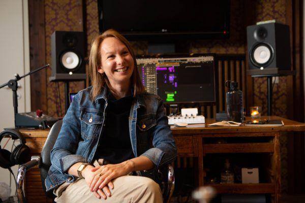 """Die Frau hinter dem Sound: Cornelia Baumgartner in ihrem Dornbirner Studio """"Cinemear"""".Klaus Hartinger (4)"""