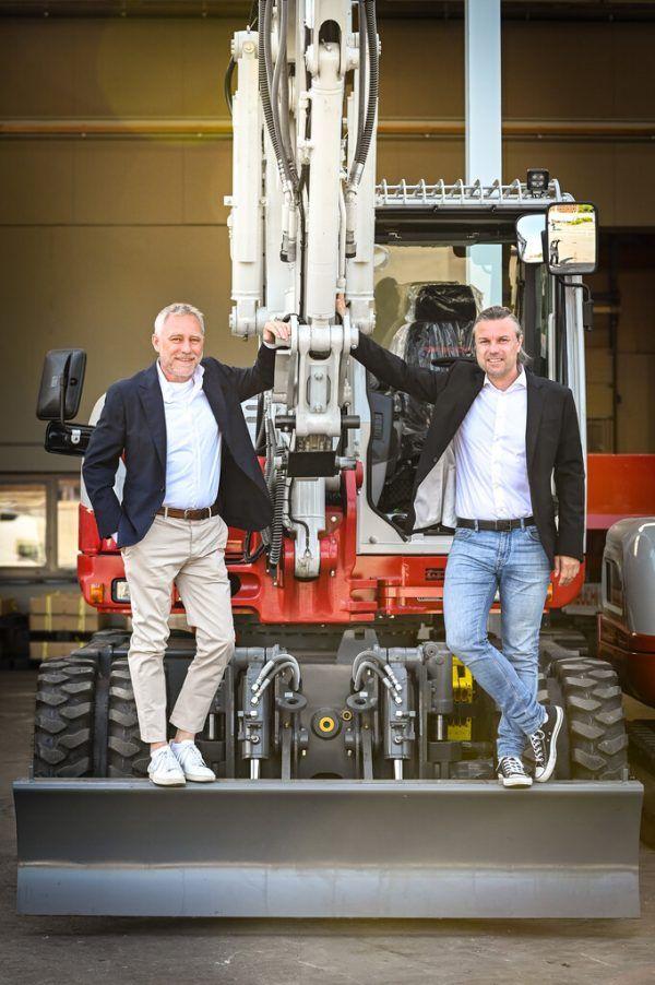 Die i+R-Eigentümer Joachim Alge und Reinhard Schertler.Udo Mittelberger