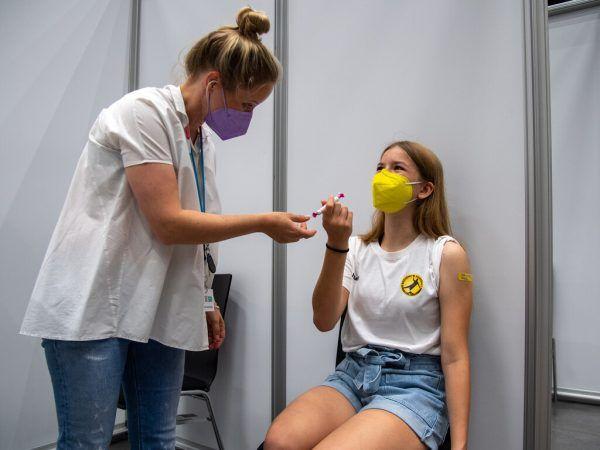 Erstmals wurden auch Jugendliche geimpft. Lerch
