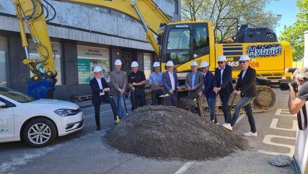 Der Spatenstich zum neuen VLV-Gebäude ist erfolgt. VLV