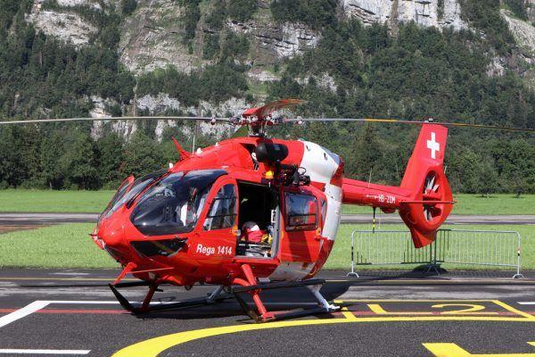 Rettungsflugwacht half bei Suche. REGA