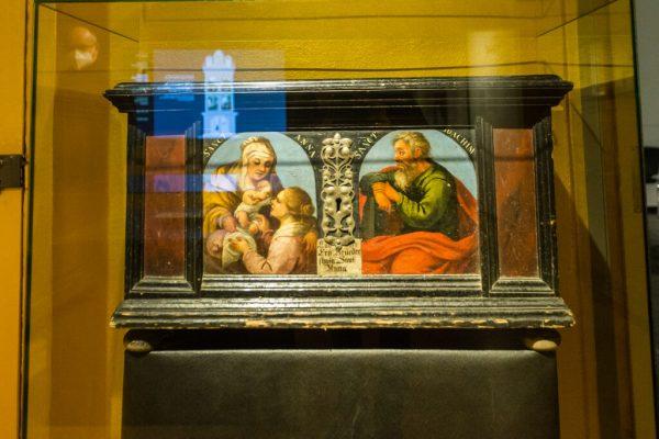 Huber-Bildnis der heiligen Anna. Philipp Steurer