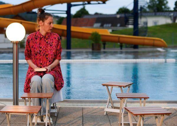 """Jeanne Devos in """"Auf nach Alang!"""" Regie führte Danielle Fend-Strahm.Nadine Schütz"""