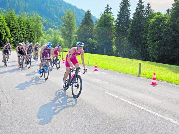 Leon Pauger macht in seinem Halbfinallauf Tempo auf dem Rad. Heute geht es für den Bregenzer um eine U23-EM-Medaille. Privat