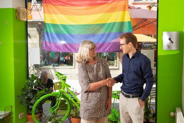 Marlene Thalhammer und ihr Nachfolger im Stadtrat Clemens Rauch. Hartinger (4)