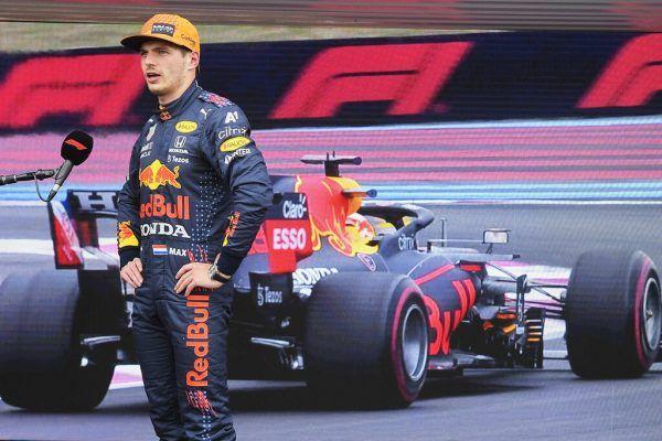 Max Verstappen darf aus der Pole Position starten. ap