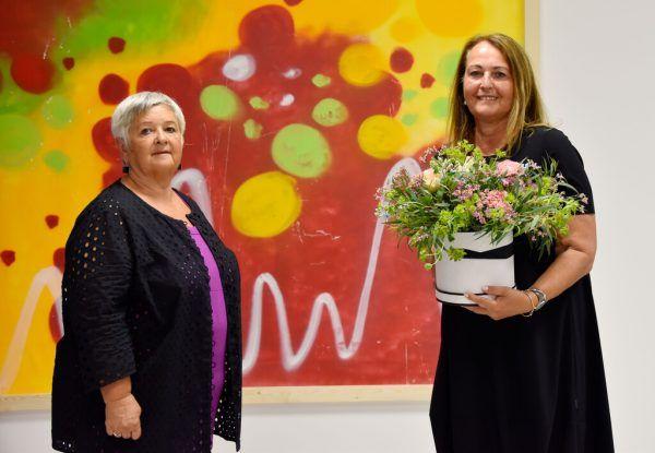 Monika Reis (r.) übergab die Präsidentschaft bei der VTS an Nachfolgerin Karin Engstler.VTS
