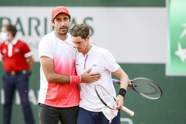 Oswald und Daniell stehen beim Wimbledon-Test auf Mallorca im Halbfinale. GEPA