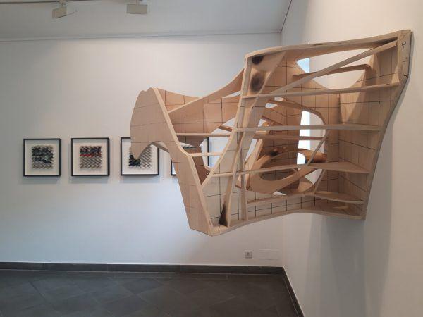 Peter Sandbichlers Werke in der Galerie Sechzig.Lisa Kammann (3)