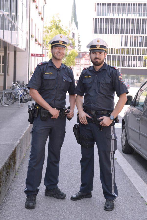 Polizei sucht Nachwuchs.Stadt Dornbirn