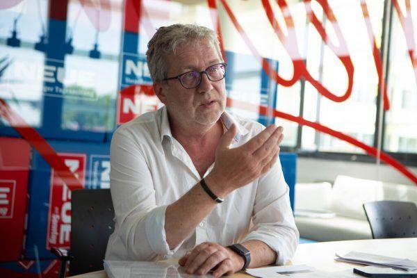 Postgewerkschafter Franz Mähr übt Kritik am geplanten Verteilzentrum.Hartinger