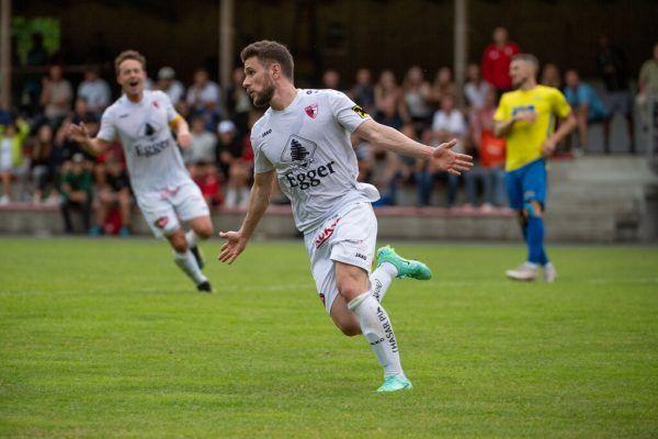 Rafhael Domingues konnte gestern über drei eigene Treffer jubeln und war damit der Matchwinner für den FC Egg. Oliver Lerch