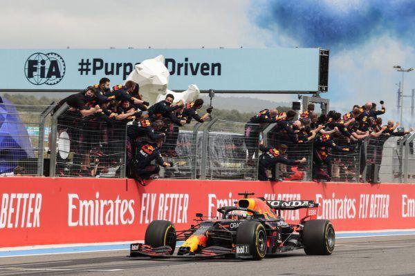 Red Bull will in Spielberg weiterfeiern.  GEPA