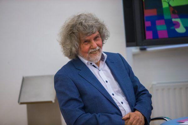 Thomas König bei der Präsentation der Schau. Seine Schenkung – ein Glücksfall.Philipp Steurer (3)