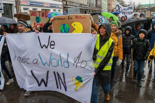 Umwelt- und Klimathemen sind den Jugendlichen besonders wichtig.Dietmar Stiplovsek