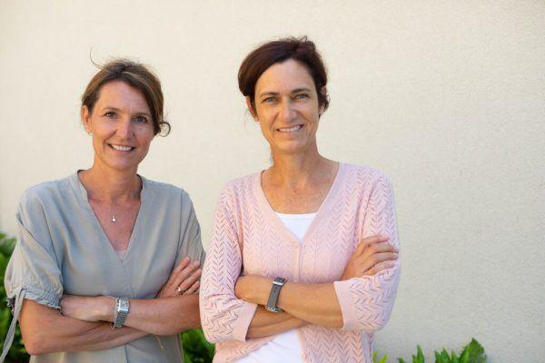 Ursula Inama und Andrea Jonach vom Landeszentrum für Hörgeschädigte.