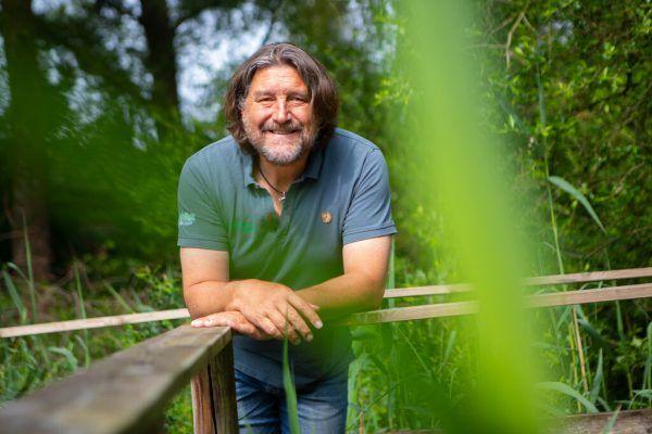 Walter Niederer als Regionsmanager ist schon seit Jahren im regionalen Naturschutz am See engagiert.Klaus Hartinger