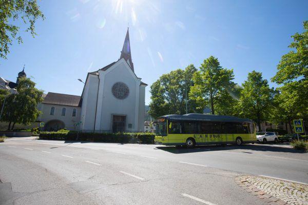 Zwischen Bludenz, Feldkirch und Götzis sind die E-Busse unterwegs.Hartinger (4), ÖBB/Kapferer