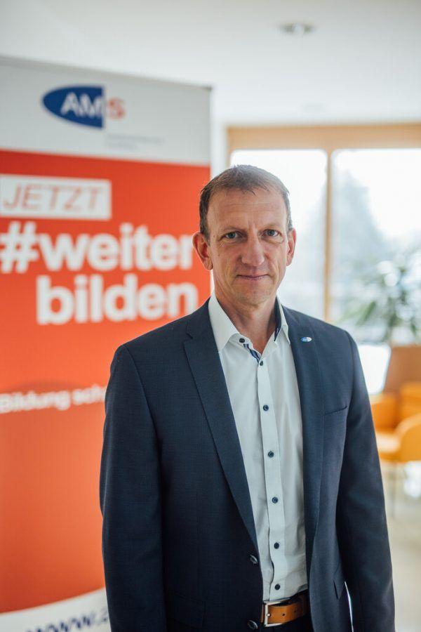 AMS-Geschäftsführer Bernhard Bereuter.Sams