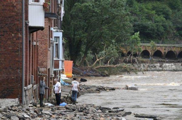 Auch Belgien ist von der Flutkatastrophe betroffen.AfP